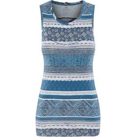 Sherpa Kira Sleeveless Shirt Women blue